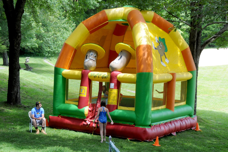 Lower Pool Pavilion - Bounce House